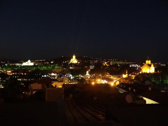 28, Noaptea in Tbilisi