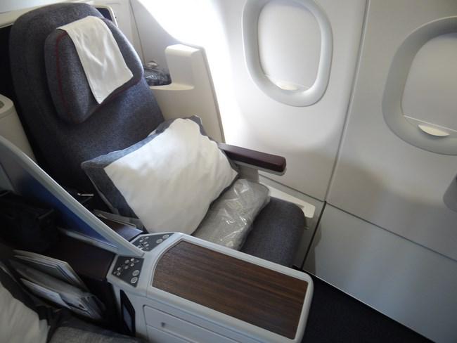 35. Business class seat