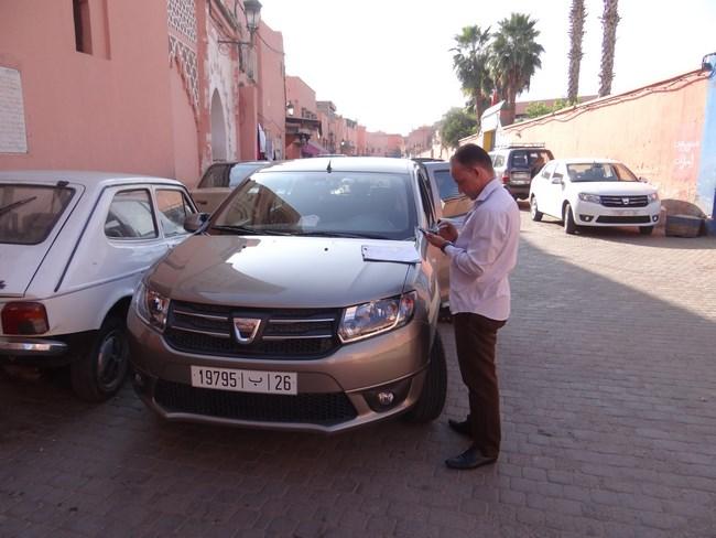 01. Dacia Sandero in Maroc