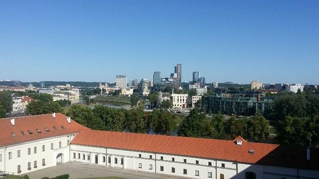 01. Panorama Palatul Marilor Duci de Lituania