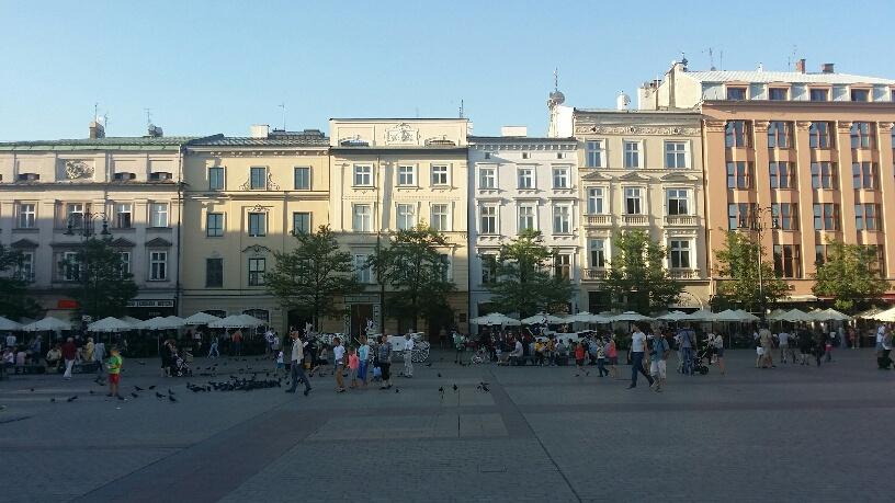 01. Piata centrala Cracovia