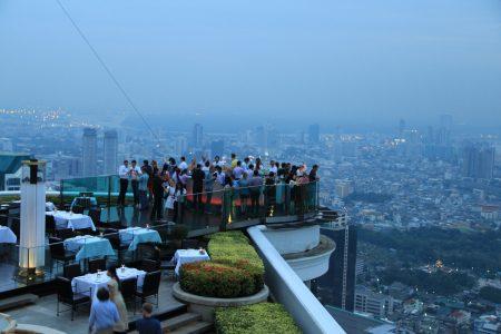 02. On top of the world ..at Sky Bar Bangkok