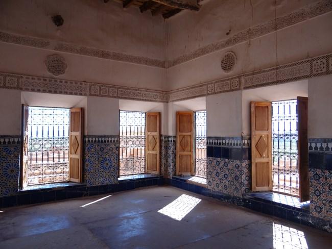 21. Interior kasbah