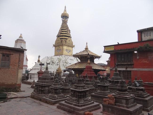 26. Stupa budista la Kathmandu