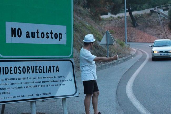 01. Autostop in Europa