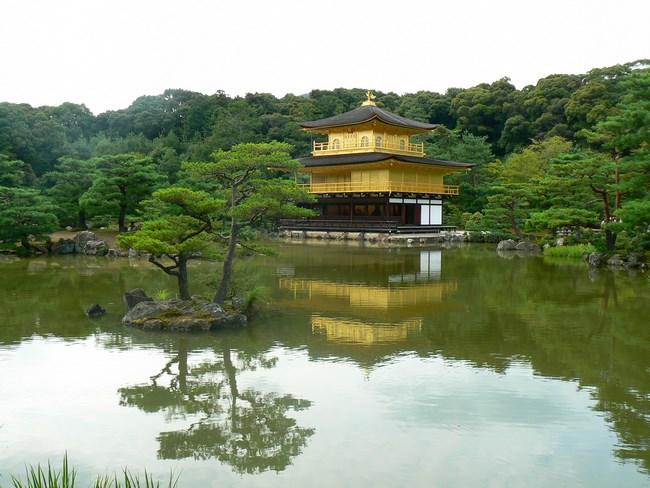 14. Templul de Aur din Kyoto