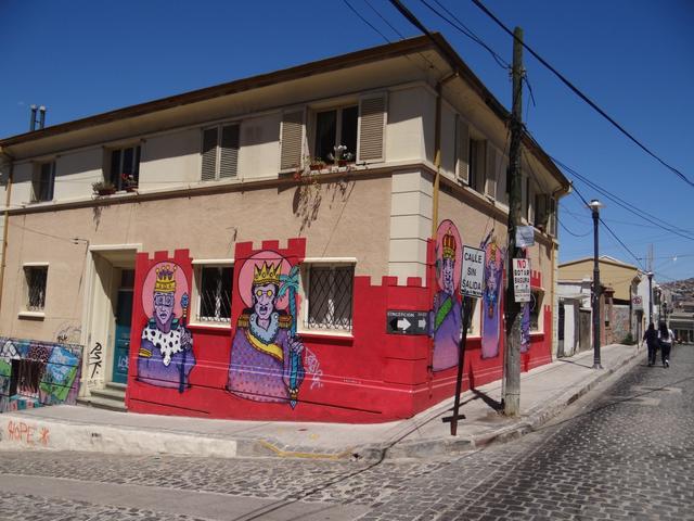 23. Centrul vechi Valparaiso