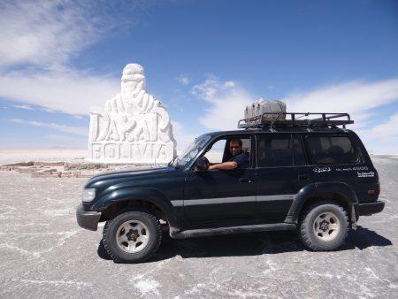 29. Monumentul Dakar in Bolivia