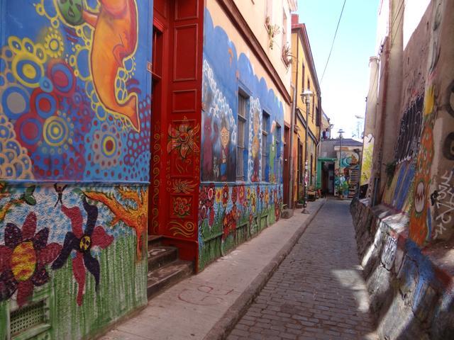 30. Streets of Valparaiso