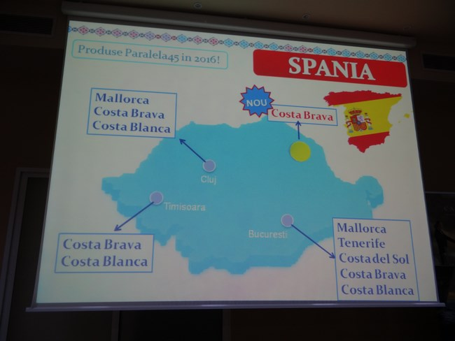 14. Charter Spania