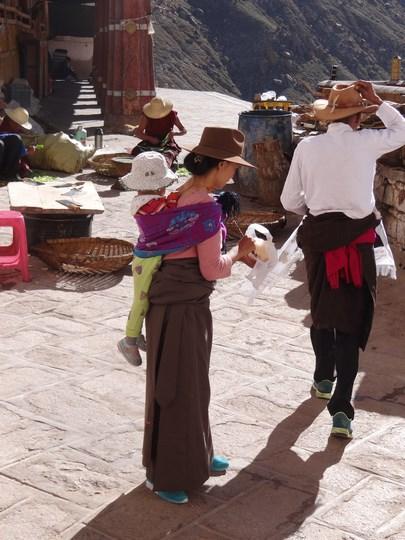 25. Credincioasa tibetana