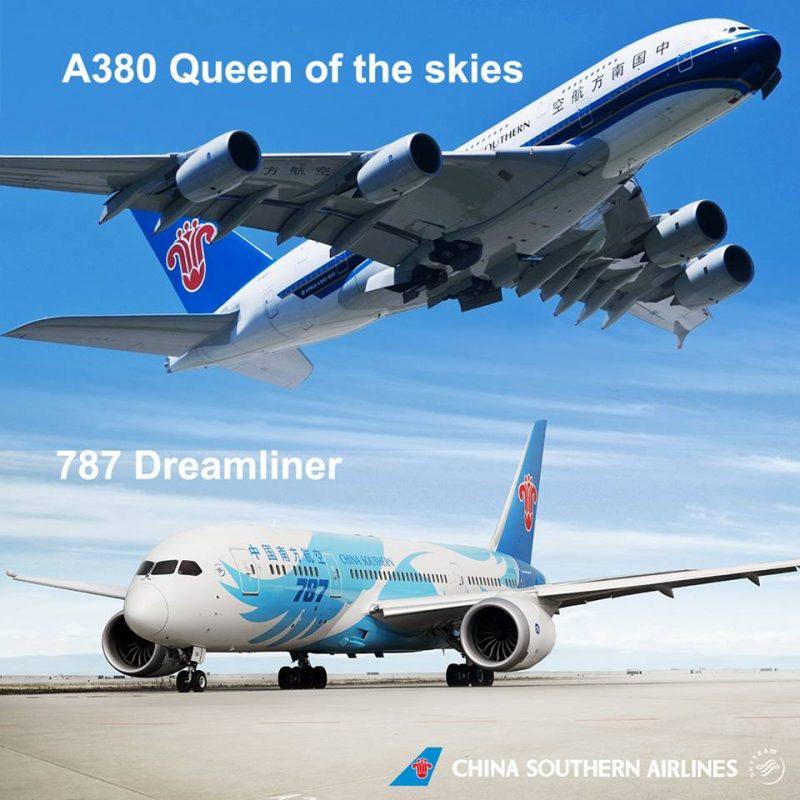03, China Southern A380 si B787