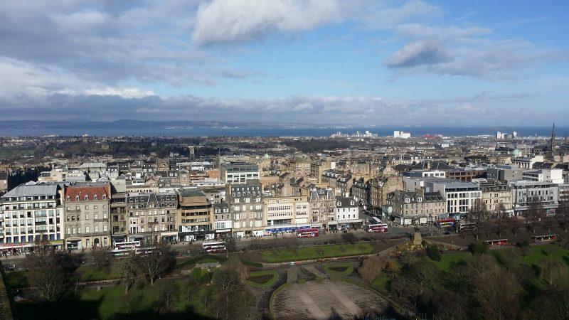 03. Panorama din castel