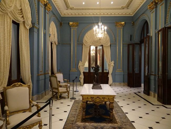 06. Interior palatul Rosada - Buenos Aires