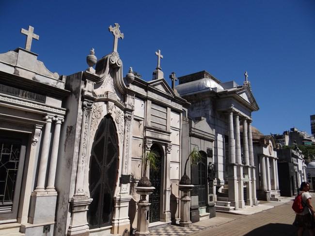 17. Cimitirul Recoleta din Buenos Aires