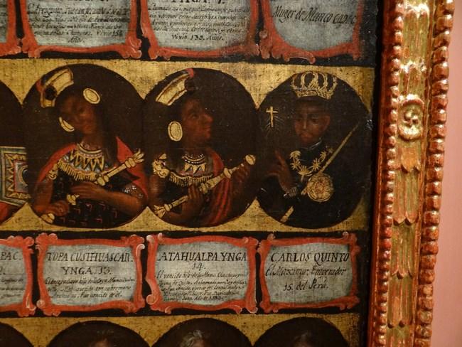 25. Regii Spaniei - imparati Inca