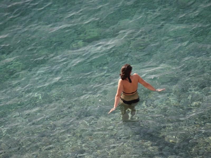05. Baie in mare la Nice