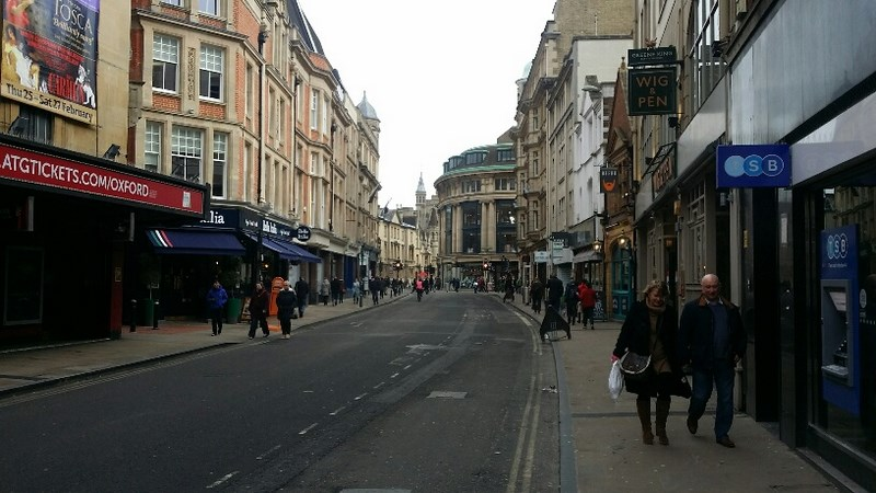 11. Oxford Streets