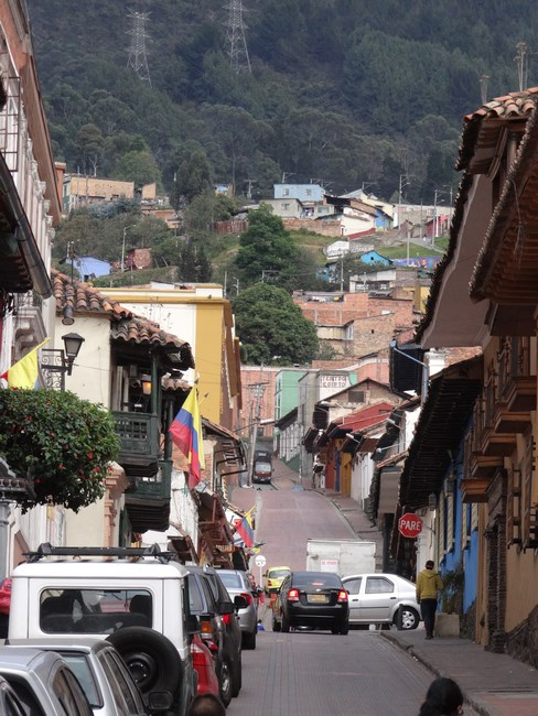 16. Vechiile strazin din Bogota