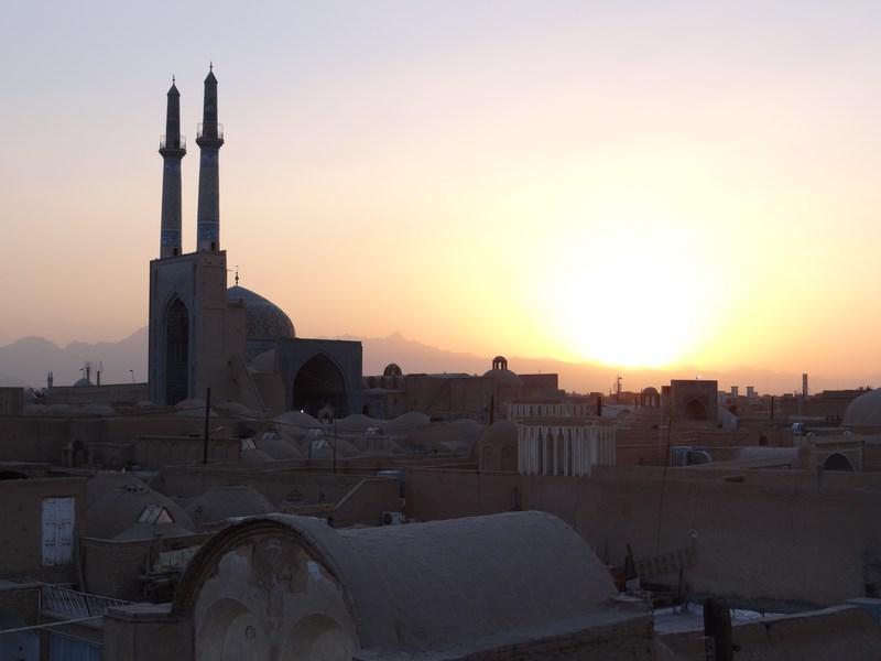 04, Apus de soare Yazd, Iran
