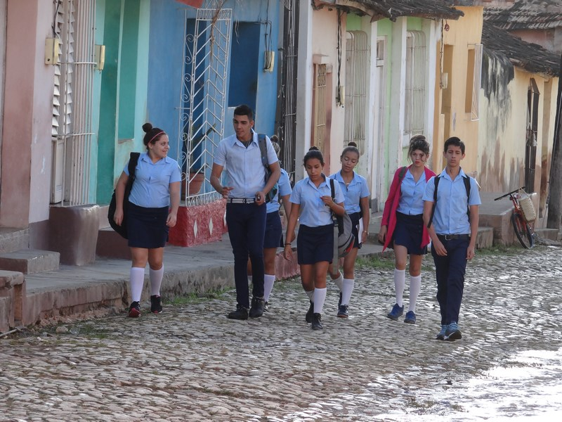 08, Elevi cubanezi
