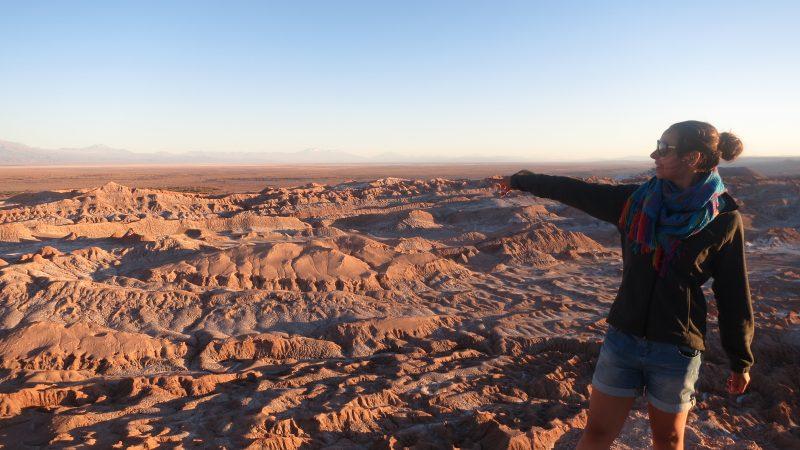 Valle de la Luna - Valea Lunii - Desertul Atacama - Chile