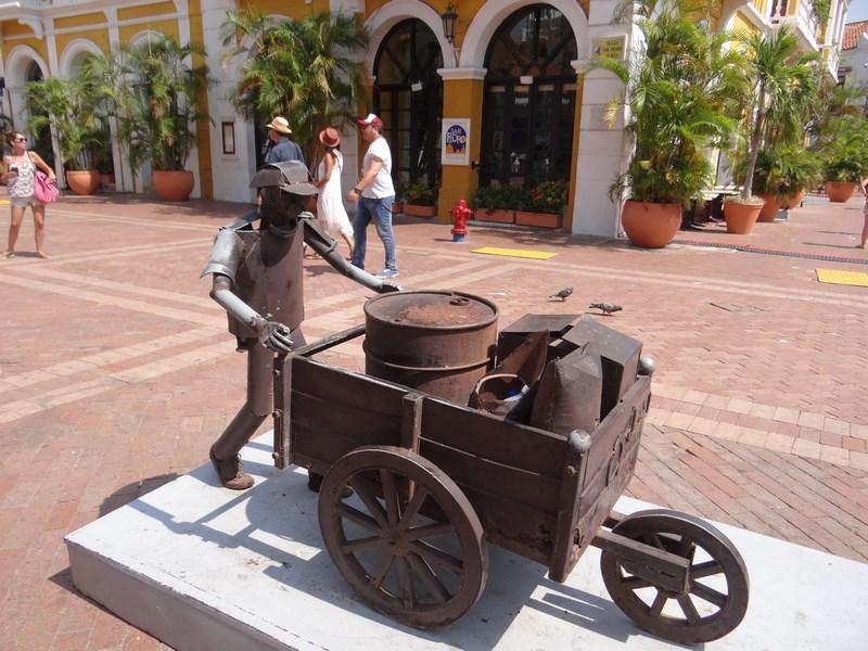 09. Statuie din Cartagena