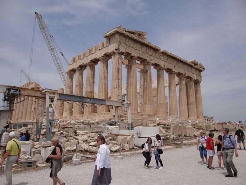 11. Parthenon, Atena