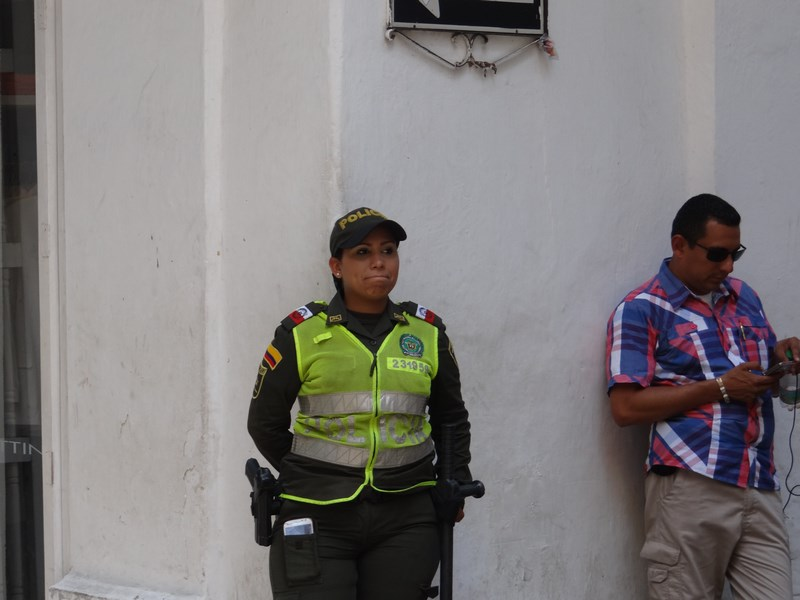 11. Politia columbiana
