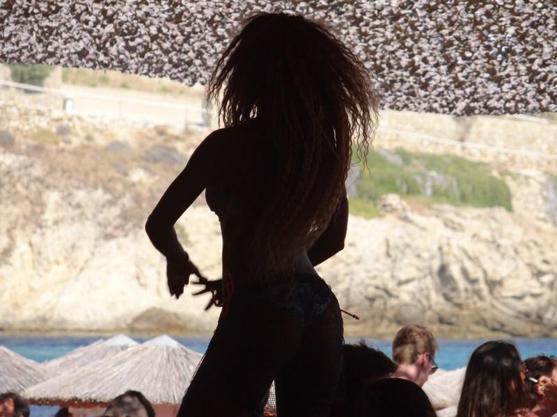 12. Nude dancer - Mykonos