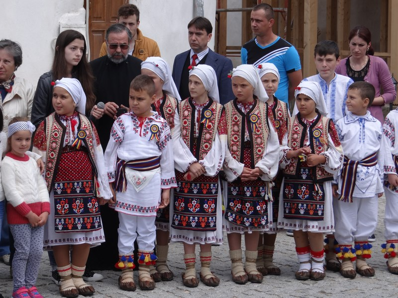 14. Copii din Comana