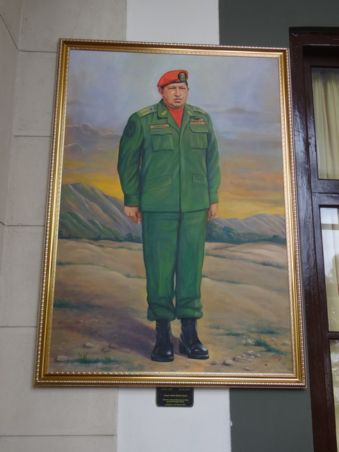 16. Hugo Chavez