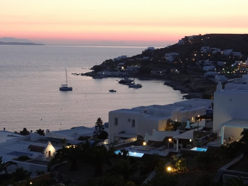 22. Mykonos sunset