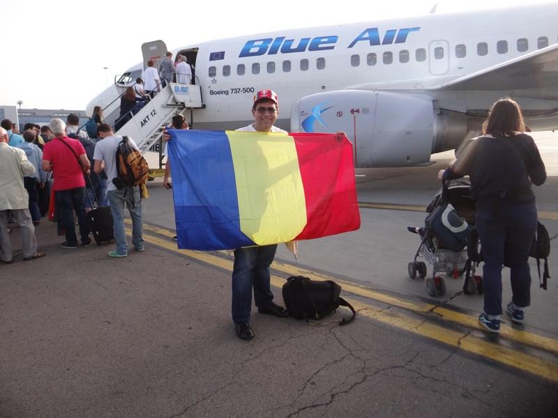 02. Blue Air spre Lyon