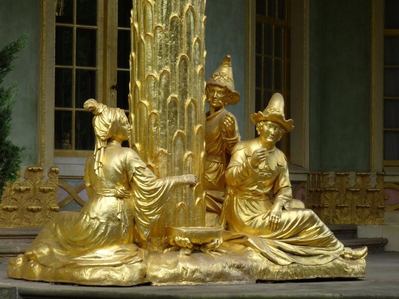 15. Statui de aur - Potsdam, Berlin