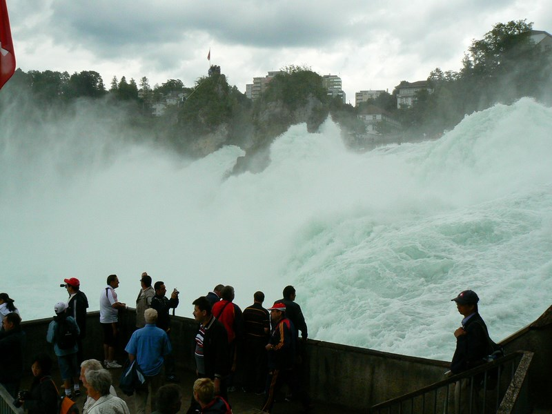 11. Rhein fall