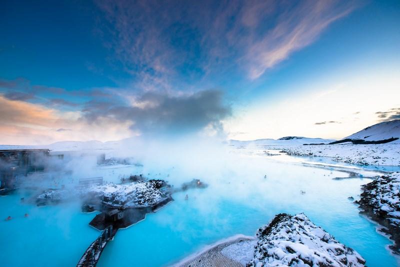 12. Blue lagoon