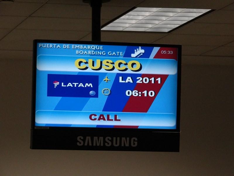 13. Lima - Cuzco