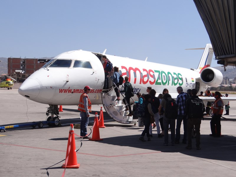 01. Amaszonas - Cuzco - La Paz