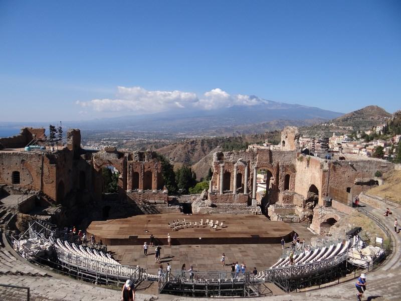 35. Teatrul Grec - Taormina, Catania, Sicilia