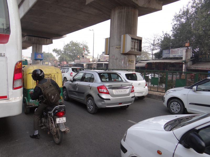 01. Trafic in Delhi