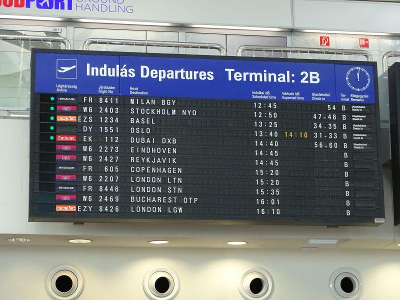 03. Aeroport Budapesta