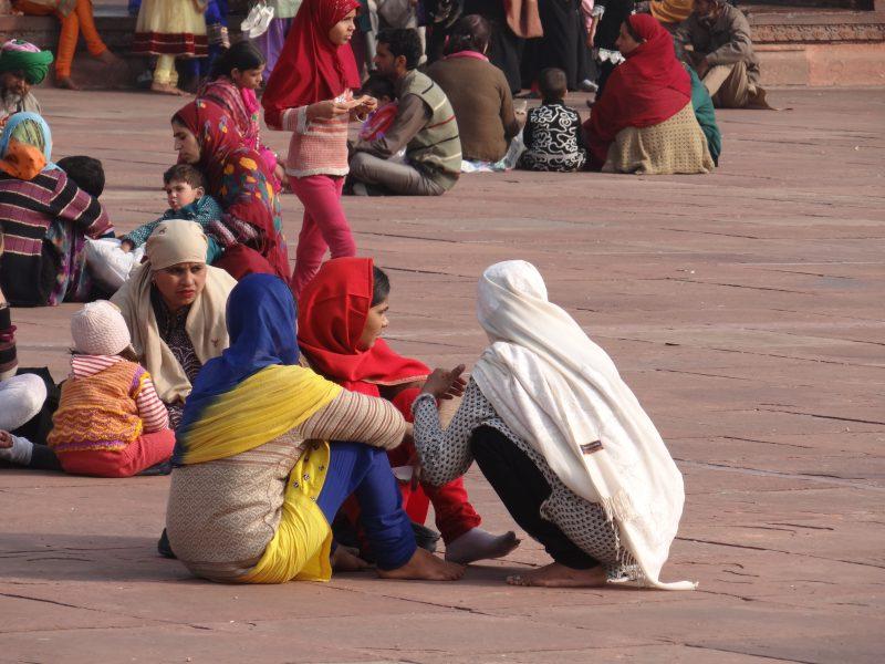 04. Curte moschee Delhi