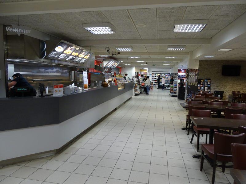 11. Restaurant fast food Islanda