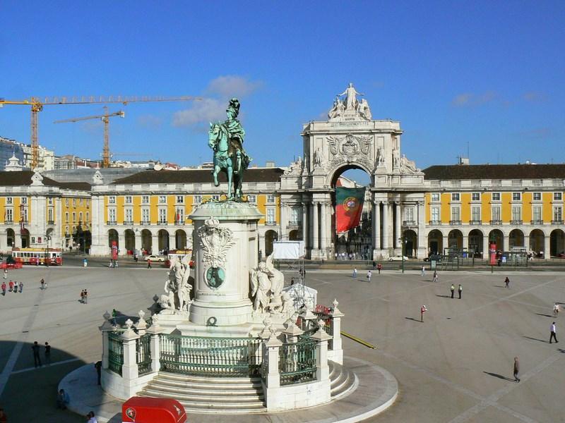 01. Praca do Comercio - Lisabona