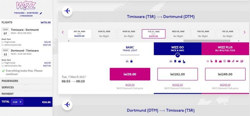 02. Wizz Timisoara - Dortmund