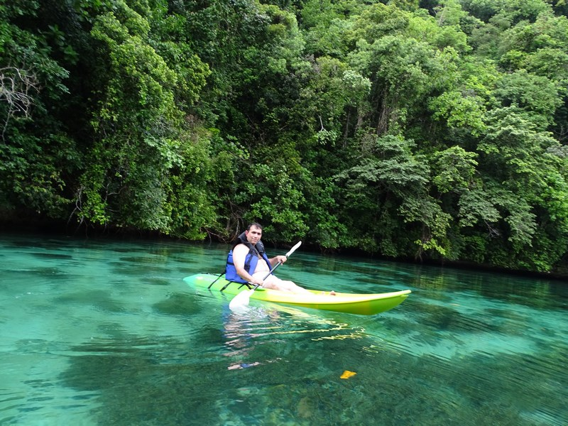 33. Caiac in Palau