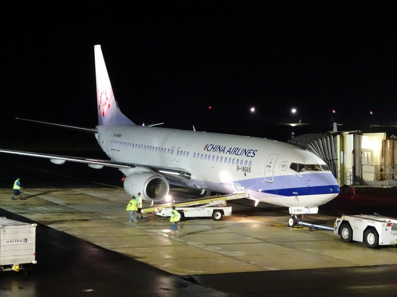 39. China Airlines in Palau