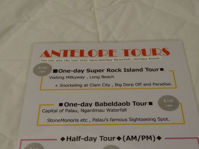 51, Antelope Palau tours