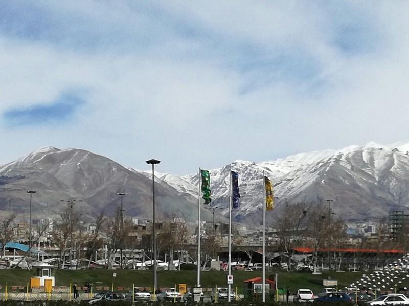 16. Muntii de langa Teheran